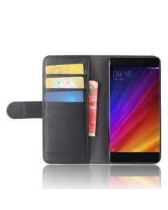 Genuine leather Xiaomi 5S Phone Case Wallet Flip Cover Stand Display Card Pocket