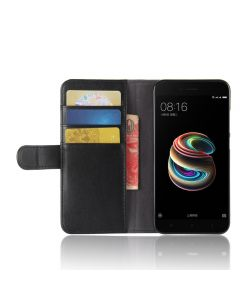 Genuine leather Xiaomi 5X Phone Case Wallet Flip Cover Stand Display Card Pocket