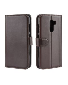 Genuine leather Xiaomi Poco F1 Phone Case Wallet Flip Cover Stand Display Card Pocket