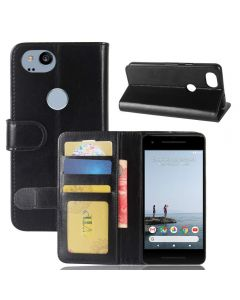 Google pixel 2 Flip Folio Leather Wallet Case with ID and Credit Card Pockets