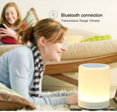 Touch Sensitive Lamp TTLET Bluetooth Speaker HandsFree Hung Good Sound Performance