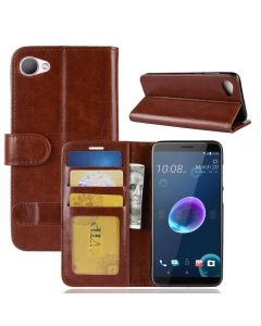 HTC Desire 12 Flip Folio Leather Wallet Case with ID and Credit Card Pockets