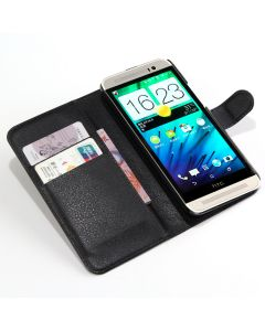 HTC One E8 /HTC E8 Phone Case Wallet Flip Cover Leather Stand Display Card Pocket