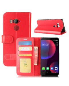 HTC U11 EYES Flip Folio Leather Wallet Case with ID and Credit Card Pockets