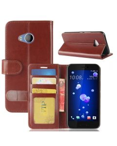 HTC U11 Life Flip Folio Leather Wallet Case with ID and Credit Card Pockets