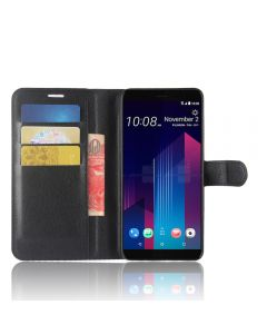 HTC U11 Plus Phone Case Wallet Flip Cover Leather Stand Display Card Pocket