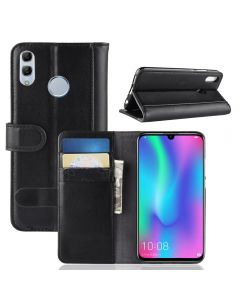 Huawei Honor 10 lite/P Smart 2019 Phone Case Wallet Flip Cover Folio Genuine Leather Case Stand Display Card Pocket