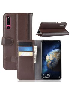 Huawei Honor Magic 2 Phone Case Wallet Flip Cover Folio Genuine Leather Case Stand Display Card Pocket