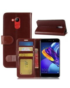 Huawei Honor V9 Play Flip Folio Leather Wallet Case with ID and Credit Card Pockets