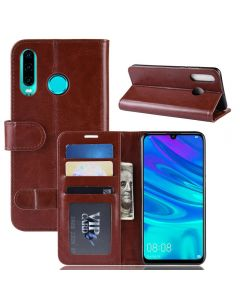 Huawei P30 Lite Flip Folio Leather Wallet Case with ID and Credit Card Pockets
