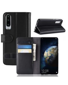 Huawei P30 Phone Case Wallet Flip Cover Folio Genuine Leather Case Stand Display Card Pocket