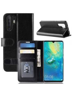 Huawei P30 Pro Flip Folio Leather Wallet Case with ID and Credit Card Pockets
