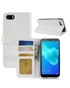 Huawei Y5 2018 Y5 prime 2018 Flip Folio Leather Wallet Case with ID and Credit Card Pockets