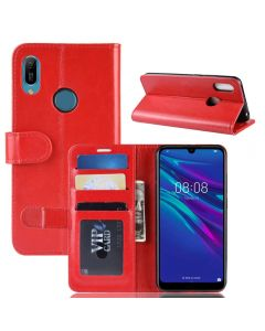 Huawei Y6 2019 Flip Folio Leather Wallet Case with ID and Credit Card Pockets