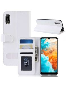 Huawei Y6 Pro 2019 Flip Folio Leather Wallet Case with ID and Credit Card Pockets