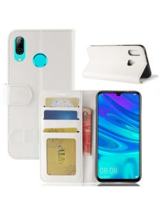 Huawei Y7 2019 Flip Folio Leather Wallet Case with ID and Credit Card Pockets