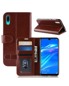 Huawei Y7 prime 2019 /Y7 Pro 2019 (NF) Flip Folio Leather Wallet Case with ID and Credit Card Pockets