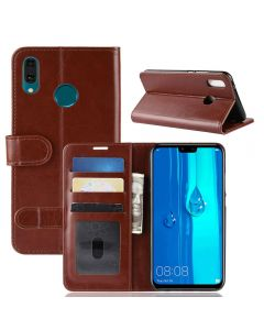 Huawei Y9 2019 Flip Folio Leather Wallet Case with ID and Credit Card Pockets