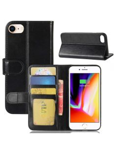 iPhone 8 /iPhone 7 Flip Folio Leather Wallet Case with ID and Credit Card Pockets