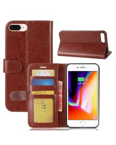 iPhone 8 Plus /iPhone 7 Plus Flip Folio Leather Wallet Case with ID and Credit Card Pockets