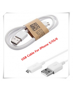 8 pins iphone 5 colorful USB data cable
