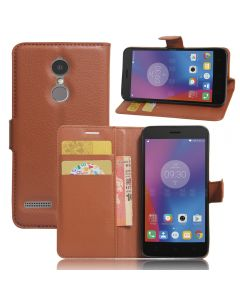 Lenovo K6 Phone Case Wallet Flip Cover Folio Leather Case Stand Display Card Pocket