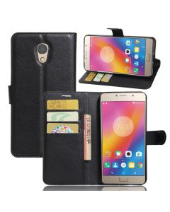 Lenovo Vibe P2 C72 Phone Case Wallet Flip Cover Folio Leather Case Stand Display Card Pocket