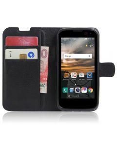 LG K3 LS450 Phone Case Wallet Flip Cover Leather Stand Display Card Pocket