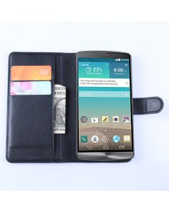 LG L35 Phone Case Wallet Flip Cover Leather Stand Display Card Pocket