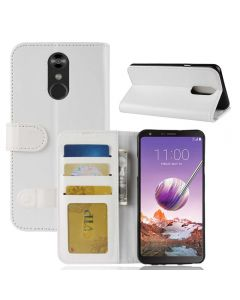 LG stylo 4 Flip Folio Leather Wallet Case with ID and Credit Card Pockets