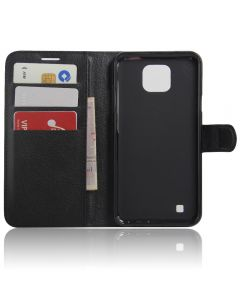 LG X cam K580 Phone Case Wallet Flip Cover Leather Stand Display Card Pocket