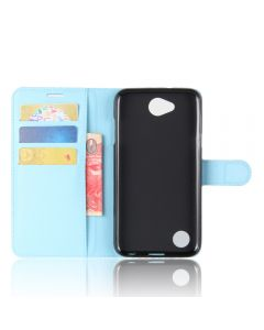 LG X Power 2 USA Phone Case Wallet Flip Cover Leather Stand Display Card Pocket