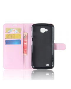 LG X venture LG V9 Phone Case Wallet Flip Cover Leather Stand Display Card Pocket