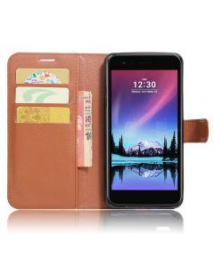 LV5 K10 2017 5.3 Phone Case Wallet Flip Cover Leather Stand Display Card Pocket