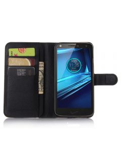 Moto droid turbo 2 XT1585/Moto X FORCE Phone Case Wallet Flip Cover Leather Stand Display Card Pocket