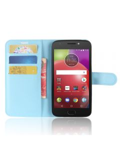 Moto E4(USA) Phone Case Wallet Flip Cover Leather Stand Display Card Pocket