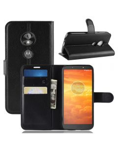MOTO E5 PLAY GO Phone Case Wallet Flip Cover Folio Leather Case Stand Display Card Pocket