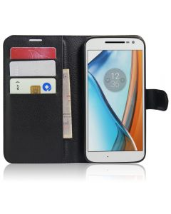 Moto G4 play Phone Case Wallet Flip Cover Leather Stand Display Card Pocket