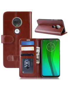 Moto G7 G7 Plus Flip Folio Leather Wallet Case with ID and Credit Card Pockets