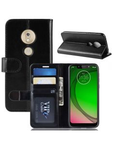 MOTO G7 Play(US) Flip Folio Leather Wallet Case with ID and Credit Card Pockets