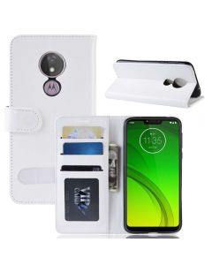 MOTO G7 Power(US) Flip Folio Leather Wallet Case with ID and Credit Card Pockets