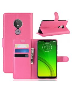 MOTO G7 Power (US) Phone Case Wallet Flip Cover Folio Leather Case Stand Display Card Pocket