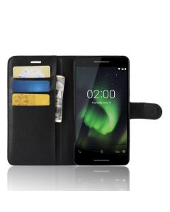 Nokia 2.1 Phone Case Wallet Flip Cover Leather Stand Display Card Pocket