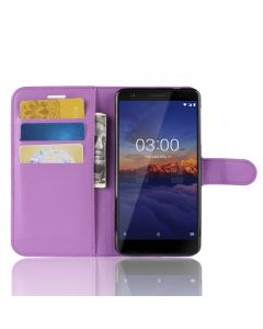 Nokia 3.1 Phone Case Wallet Flip Cover Leather Stand Display Card Pocket