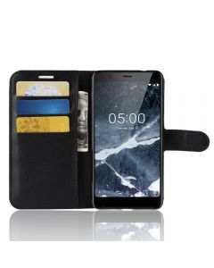 Nokia 5.1 Phone Case Wallet Flip Cover Leather Stand Display Card Pocket