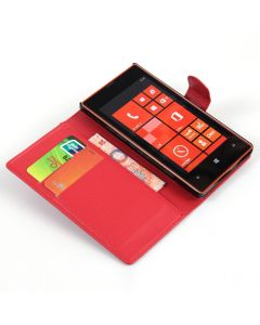 Nokia 520 Phone Case Wallet Flip Cover Leather Stand Display Card Pocket