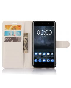 Nokia 6 Phone Case Wallet Flip Cover Leather Stand Display Card Pocket