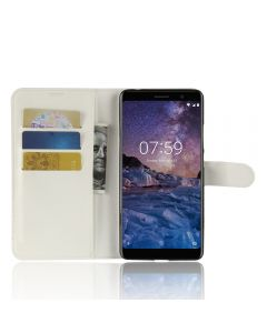 Nokia 7 Plus Phone Case Wallet Flip Cover Leather Stand Display Card Pocket