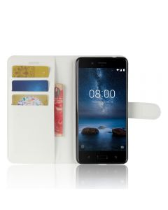 Nokia 8 Phone Case Wallet Flip Cover Leather Stand Display Card Pocket