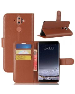 Nokia 8 Sirocco Phone Case Wallet Flip Cover Leather Stand Display Card Pocket